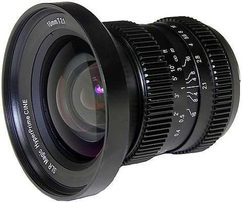 HyperPrime CINE 10mm T2.1