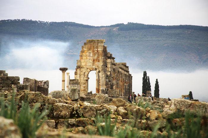 Мекнес, руины