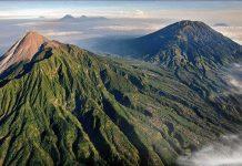 Вулкан Мерапи, Индонезия
