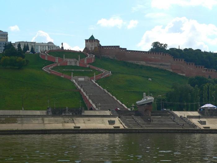 Кремль в Нижнем Новогороде