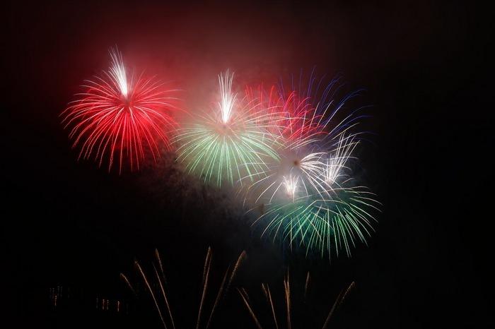 Новогоднее огненное шоу