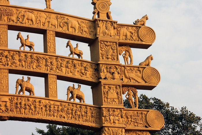 Санчи - буддийские памятники