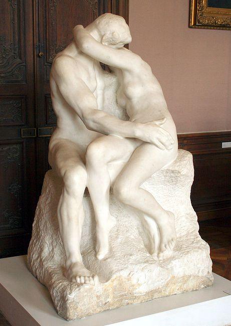 """""""Поцелуй"""", музей Родена, Париж"""