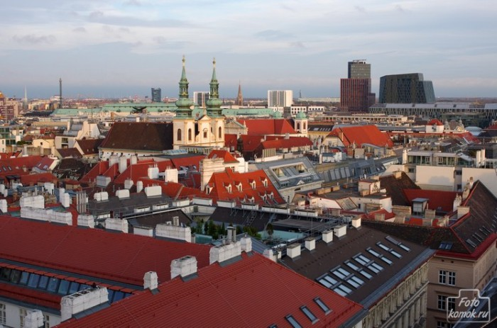 Вена с собора Св. Штефана