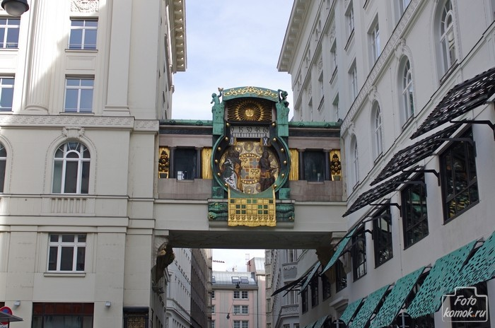 Анкерные часы, Вена