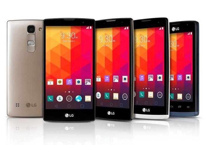 Новая линейка смартфонов LG