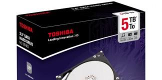 "Toshiba 3.5"" SATA HDD MD-Series 5TB"