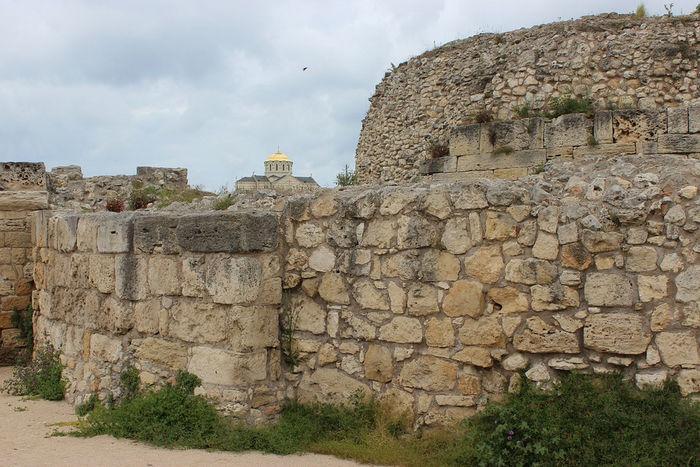 Херсонес Таврический, руины