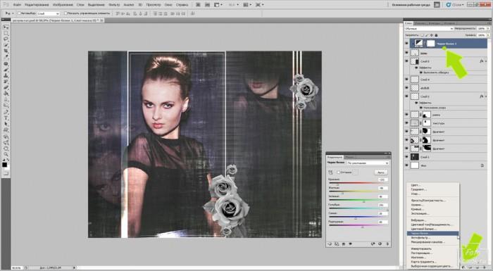 Гламурный фотоколлаж-11