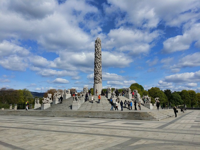 Осло, парк скульптур