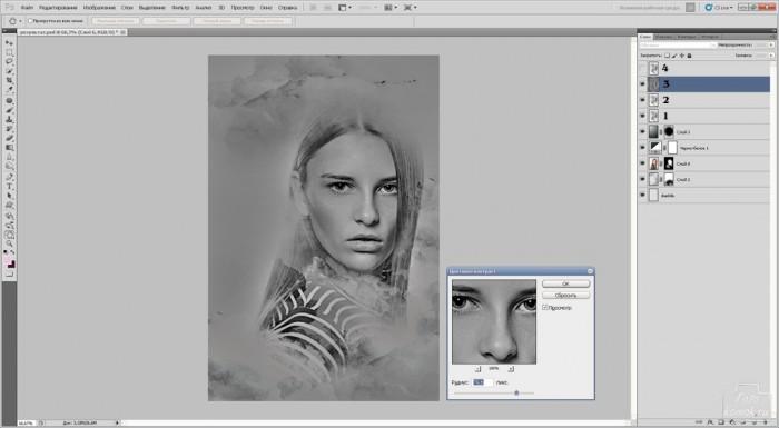 портрет в стиле живопись-12
