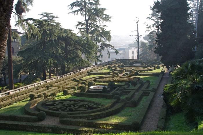 Ватикан - сады