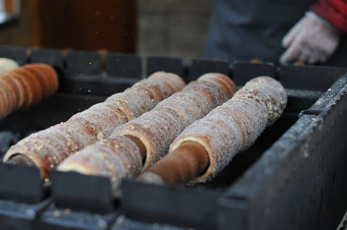 Трдло – традиционное чешское лакомство