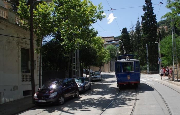 Трамвайчик на Тибидабо. Барселона