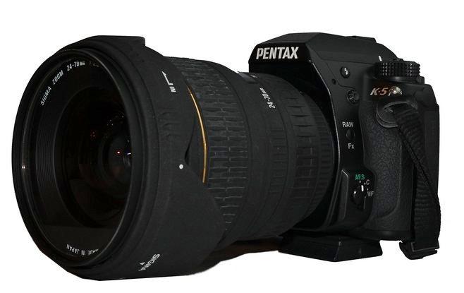 Pentax k-5 с объективом 24-70 мм/F2.8