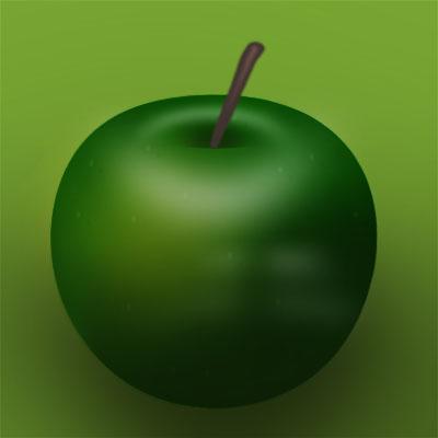 Иконка яблоко