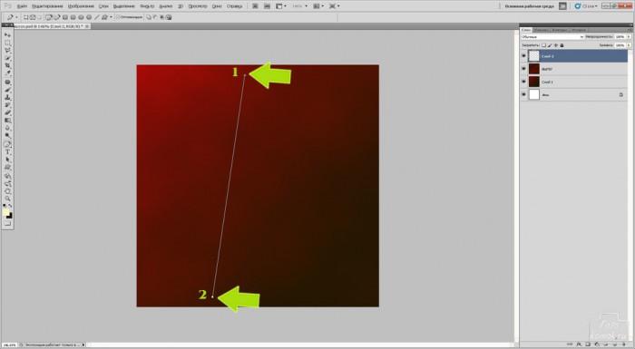 Светящиеся линии при помощи пера в Фотошоп-04