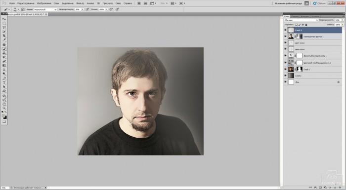 обработка портрета фото-11