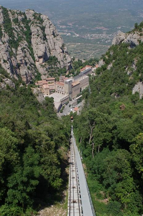 Гора Монсеррат. Испания
