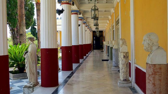 дворец Ахиллион, Корфу
