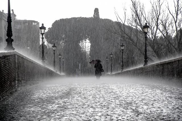 Съемка в дождь