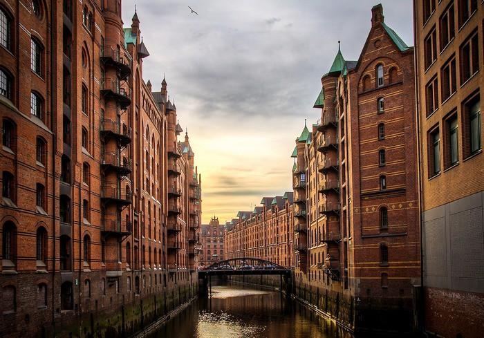 Гамбург, склады