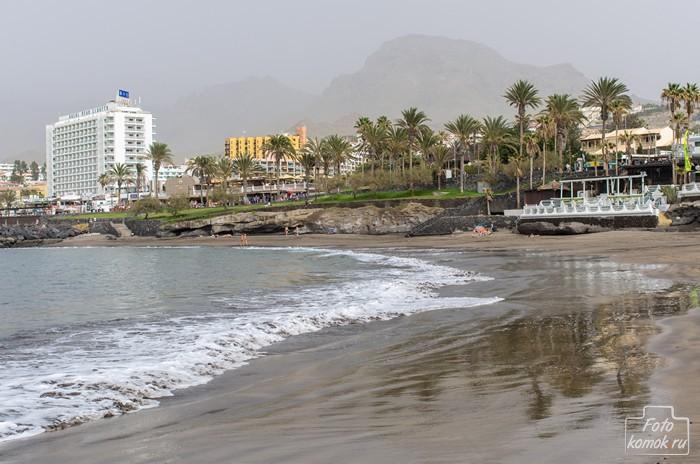 Пляж Лас-Америкас