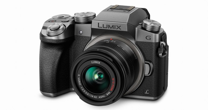 Panasonic LUMIX DMC-G7 side