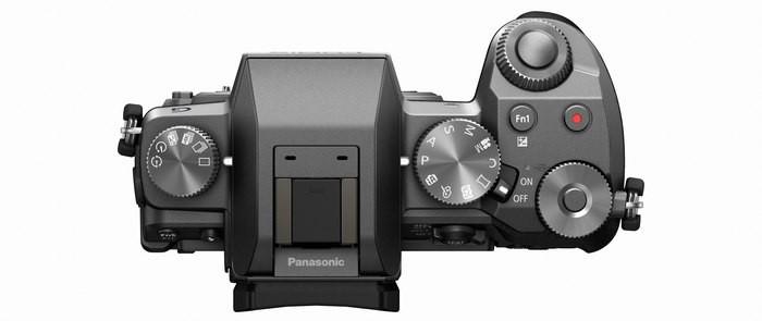 Panasonic LUMIX DMC-G7  top