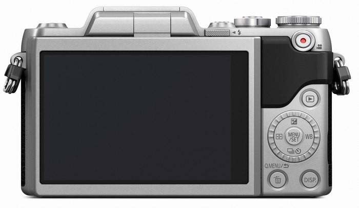 Panasonic GF7 сзади