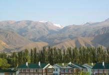 Кыргызстан. Пейзаж