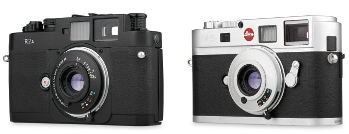 Lomo LC-A MINITAR-1 2.8/32 M  на фотоаппарате