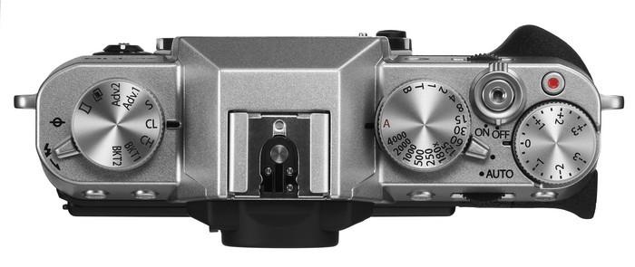 FUJIFILM X-T10 top silver