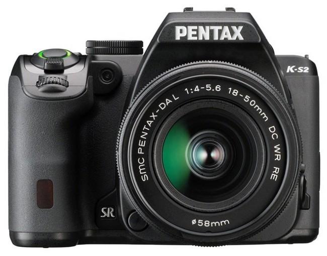 Pentax K-S2 вид спереди