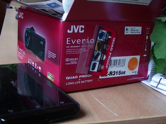 Тест видеокамеры JVC Everio GZ-R315