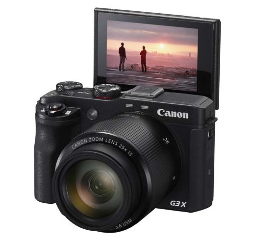 Canon PowerShot G3 X side