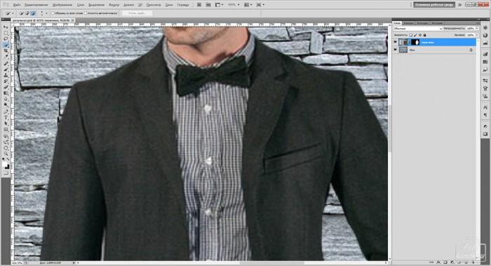 Замена элемента  одежды-08