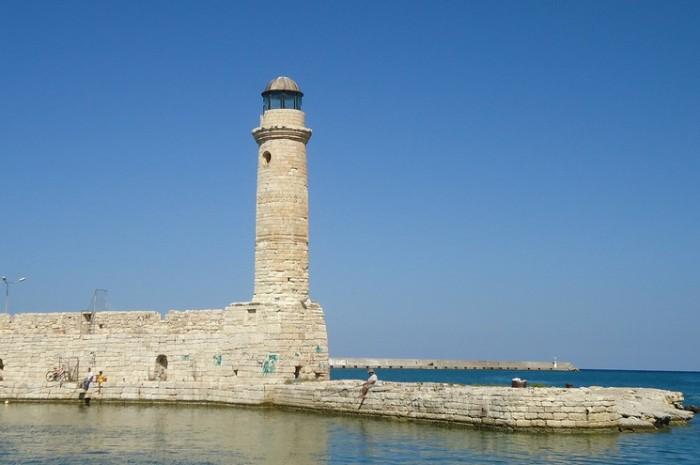 Маяк в Ретимно, Крит