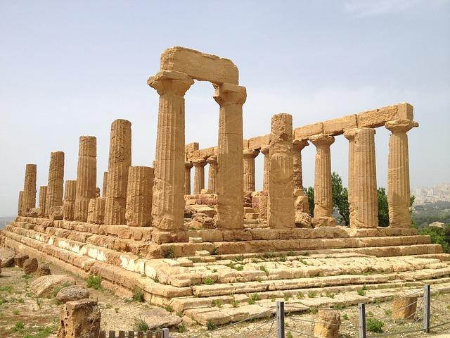 Античный храм. Агридженто