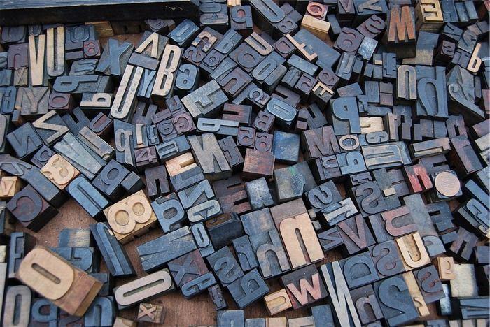 Использование шрифтов в дизайне