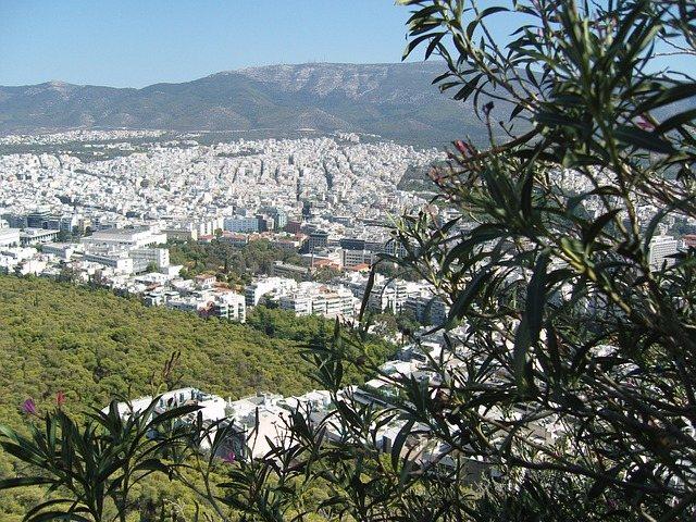 Афины. Панорама