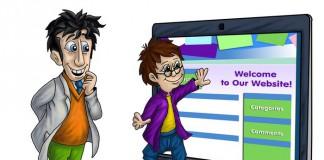 Выбор стилистики сайта