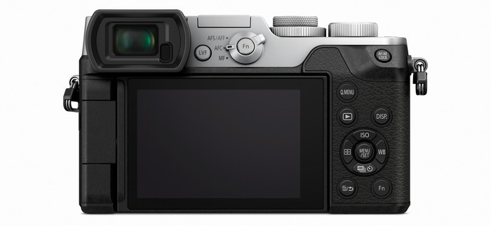 Panasonic LUMIX DMC-GX8 back