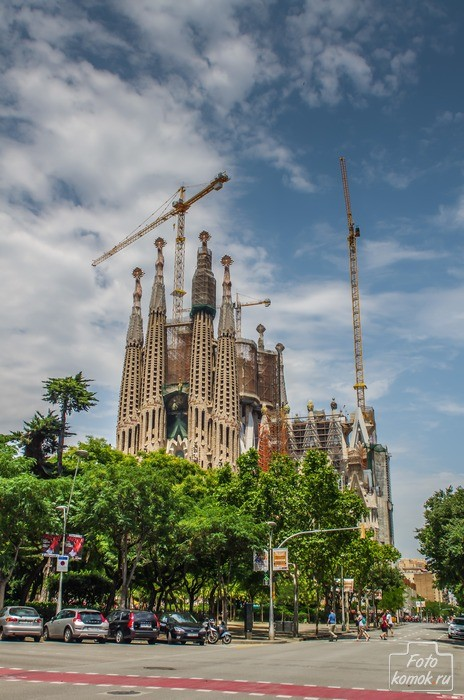 Храм Святого Семейства. Барселона. Испания