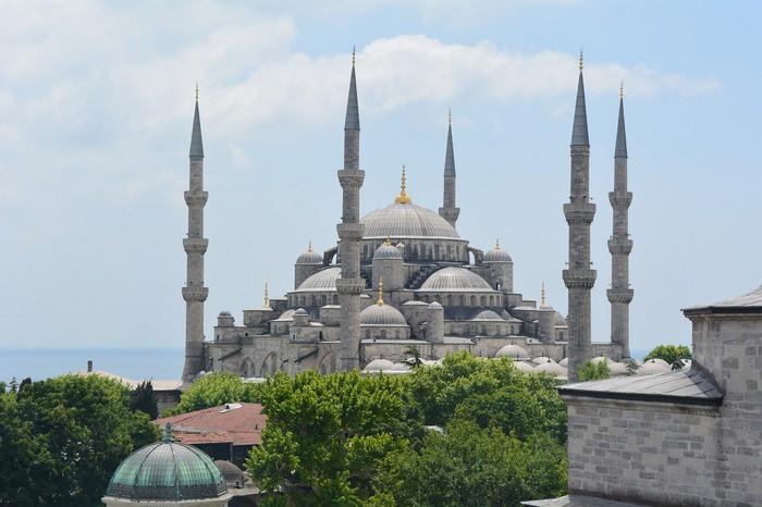 Голубая мечеть. Стамбул