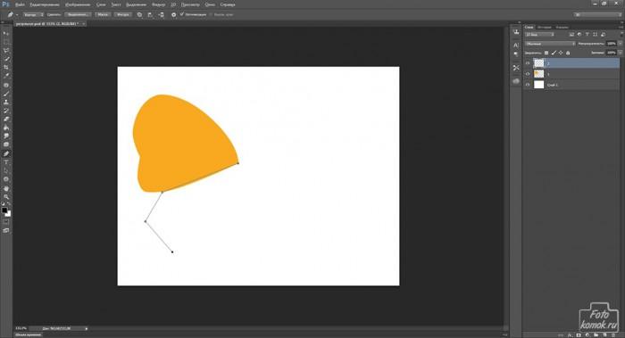 Иконка бабочка08