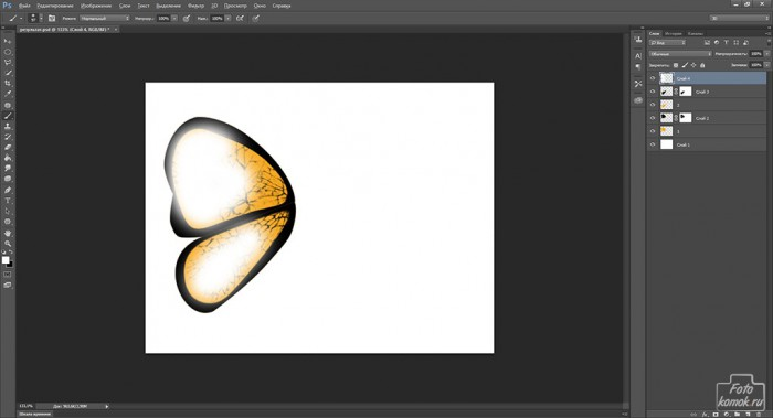 Иконка бабочка-17