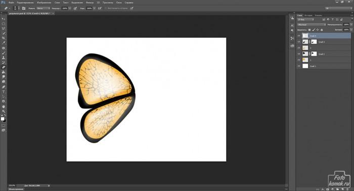 Иконка бабочка-18