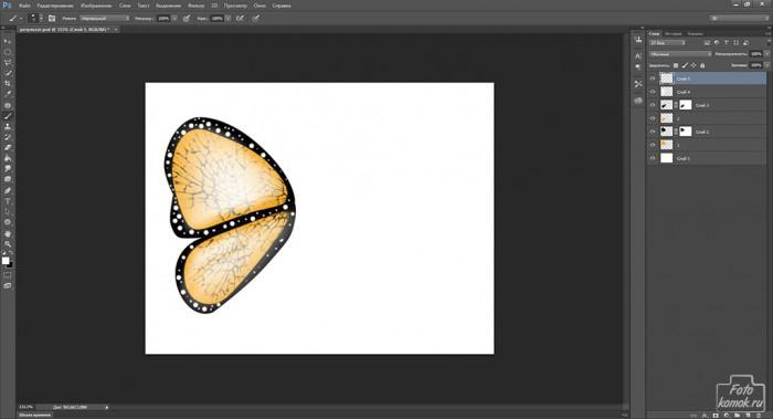 Иконка бабочка-19