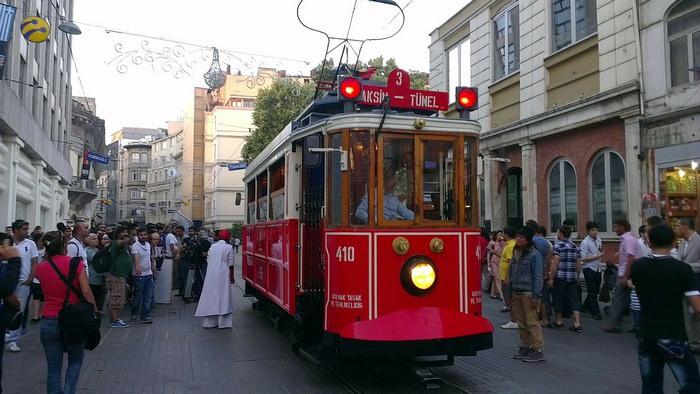 Микрорайон Таксим. Стамбул